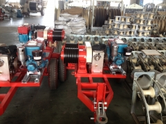 Power Line Construction Equipment 5 Ton Pulling Winch JJCS-50T