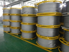 Anti Twisting Braided Steel Rope 14mm diameter for pulling Single Conductor and OPGW