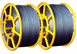 Anti Twisting Steel Wire Rope 10mm diameter for pulling OPGW and Earth Wire