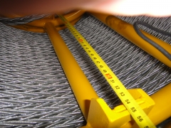 Anti Twisting Braided Steel Rope 16mm for pulling Two Bundled Conductors