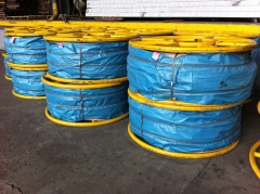 Anti Twist Steel Wire Rope 20mm for pulling four Bundled Conductors on transmission line