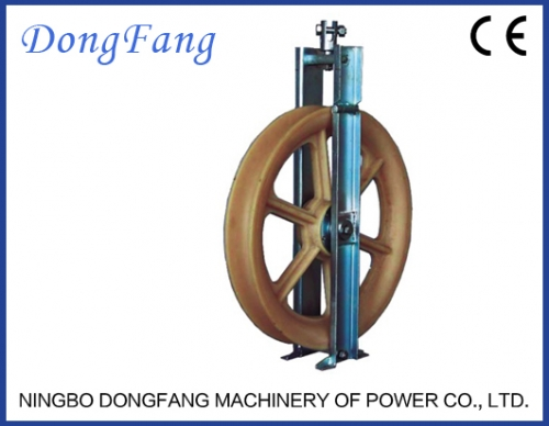 OPGW Stringing Equipments Optic Fiber Cable Pulley Blocks SHG660