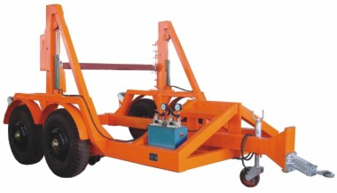 Cable Reel Trailer for Installation Underground cable DLG8